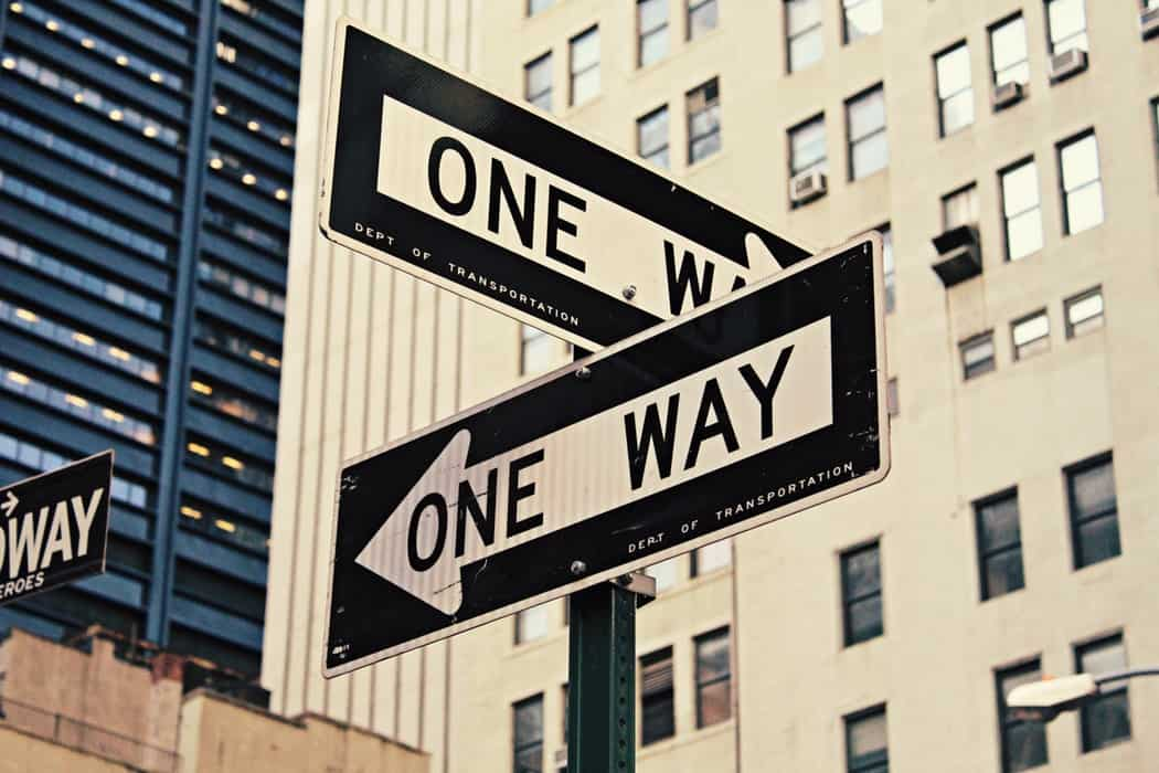 Which way are you going?