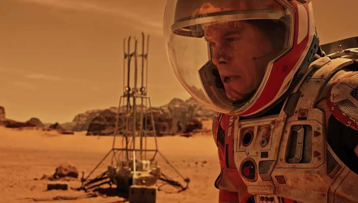 """Matt Damon in the 2015 film """"The Martian"""""""